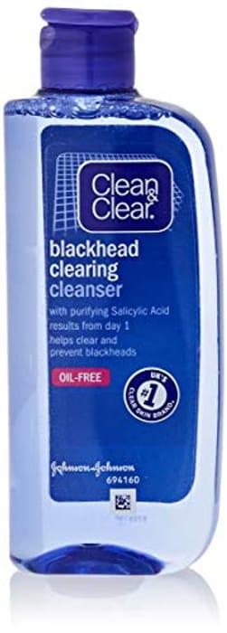 Clean & Clear Blackhead Clearing Oil-Free Cleanser, 200ml