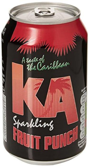 KA Sparkling Fruit Punch 24x330ml