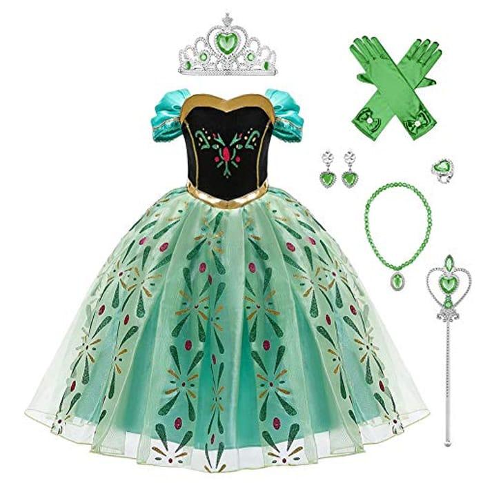 Frozen Anna Dress for £12.19 Delivered