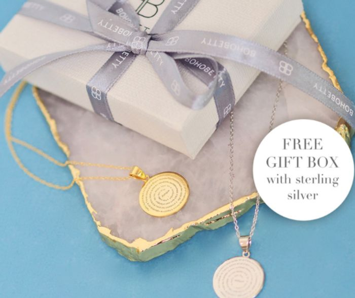 Boho Betty   FREE Gift Box with All Sterling Silver
