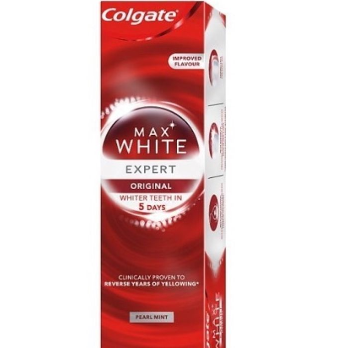 Colgate Max White Expert Original Pearl Mint Toothpaste 75ml