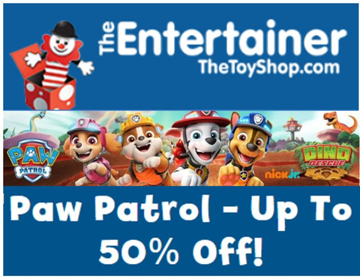 PAW PATROL - up to 50% off