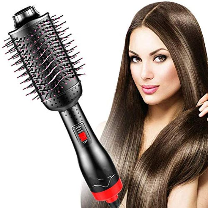DEAL STACK - Hair Dryer Brush, One-Step Hair Dryer + 5% Coupon