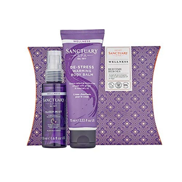 CHEAP! Sanctuary Spa Gift Set, Bedtime Heroes Wellness Gift