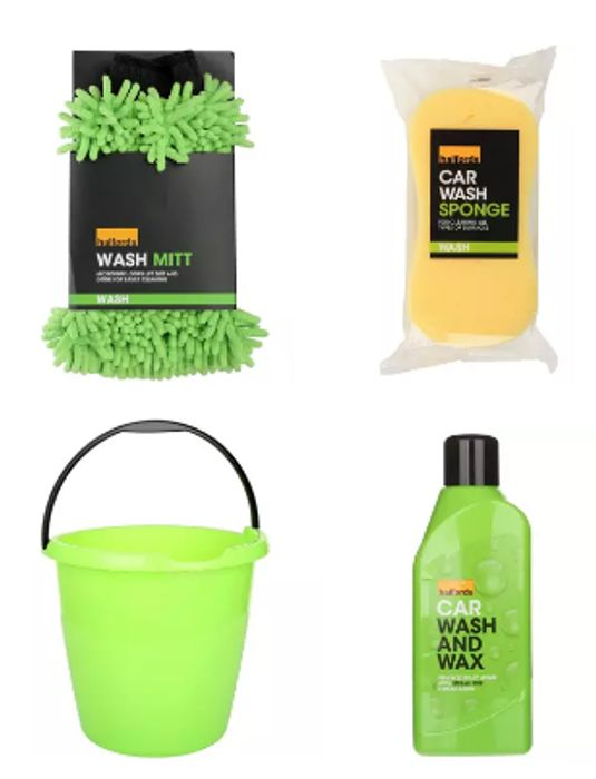 Car Cleaning Bucket Bundle