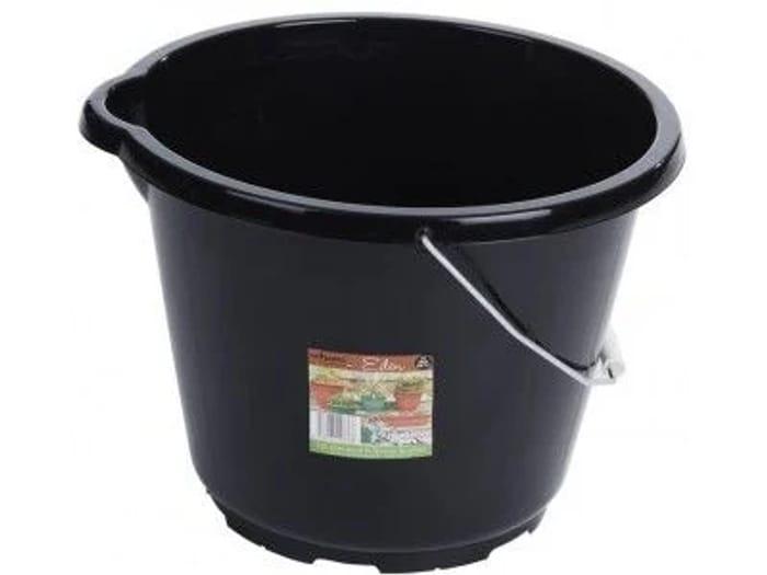 General Purpose Black Bucket 12 Litre