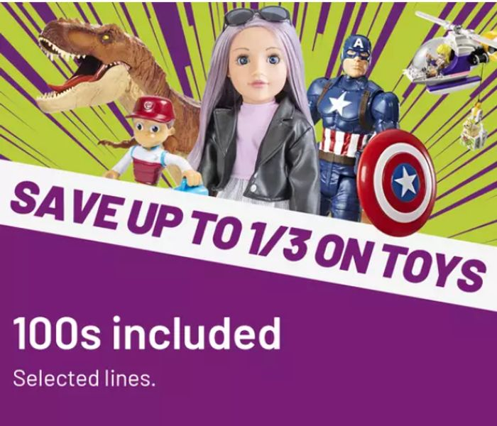 Argos Up To 1/3rd Off Toy Sale - Some Are 1/2 Price!