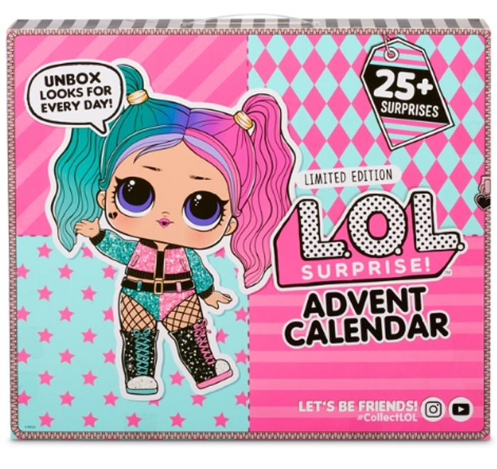 L.O.L. Surprise! Advent Calendar 2020 with Limited Edition Doll - Only £29.99!