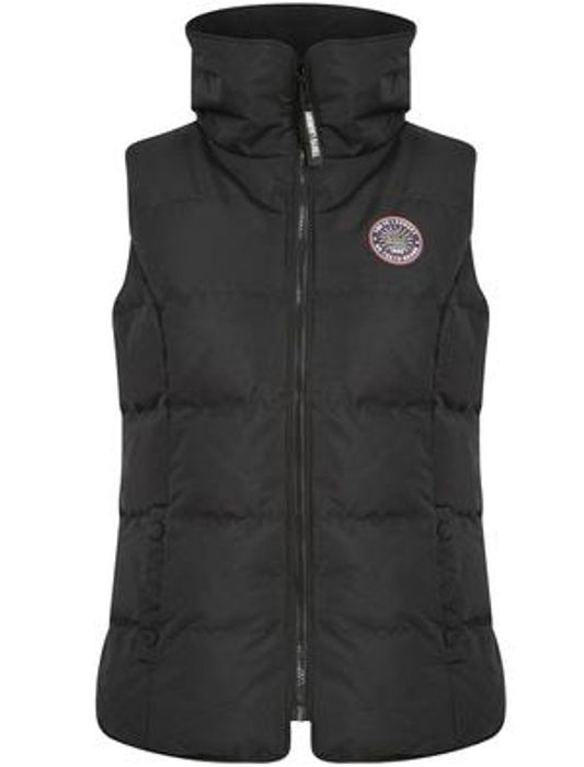 Women's Tokyo Laundry Quilted Funnel Neck Puffer Gilet for £15