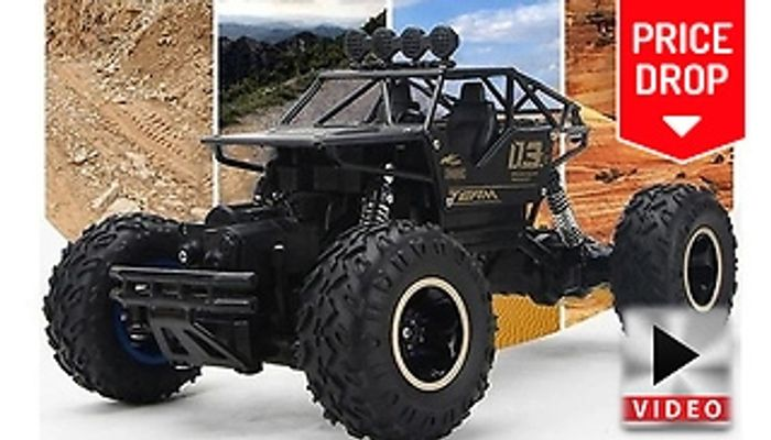 EXTRA 10% off XL Off-Roading High Speed Buggy with 4-Wheel Drive & Remote