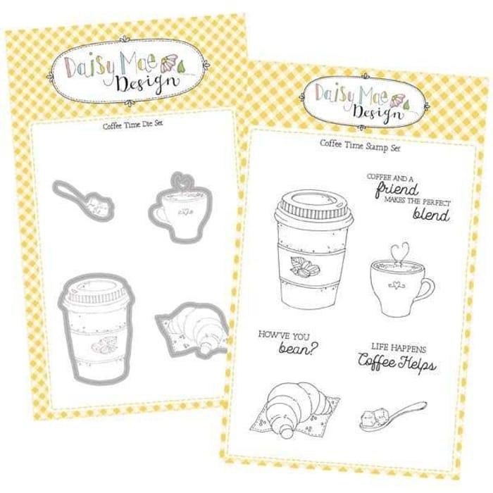 Daisy Mae Design Village Bakery Coffee Time Die & Stamp Bundle