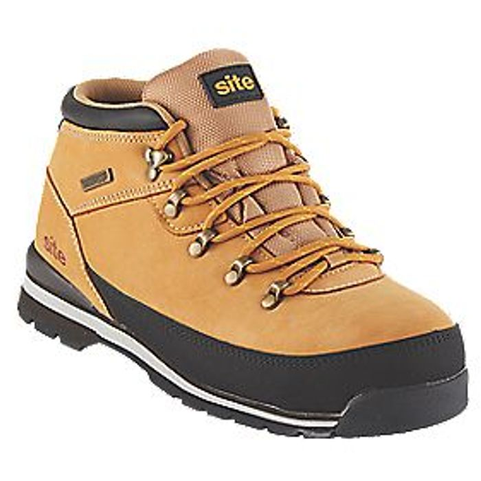 SITE Meteorite Safety Boots TAN
