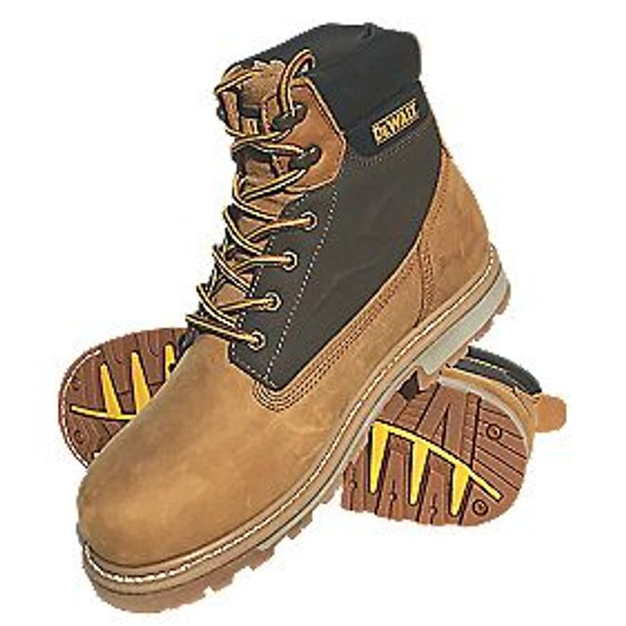 Great Value Product DEWALT AXLE SAFETY BOOTS HONEY