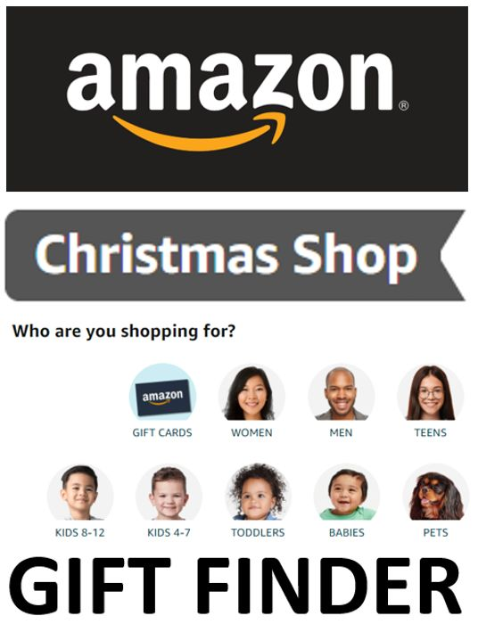 Special Offer - AMAZON CHRISTMAS SHOP - Gift Finder Tool