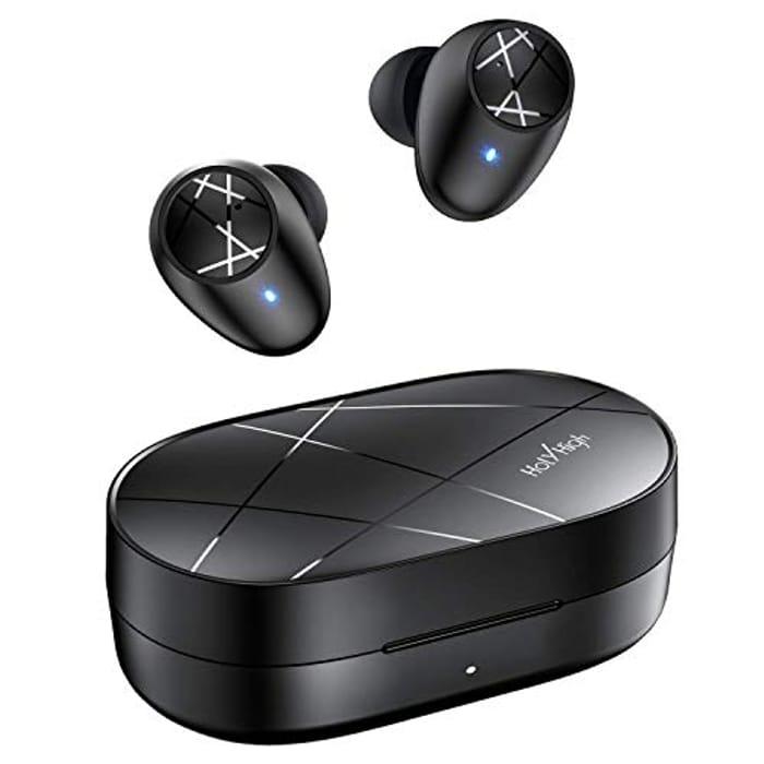 Wireless Bluetooth 5.0 Sports Earphones - IPX5 Waterproof