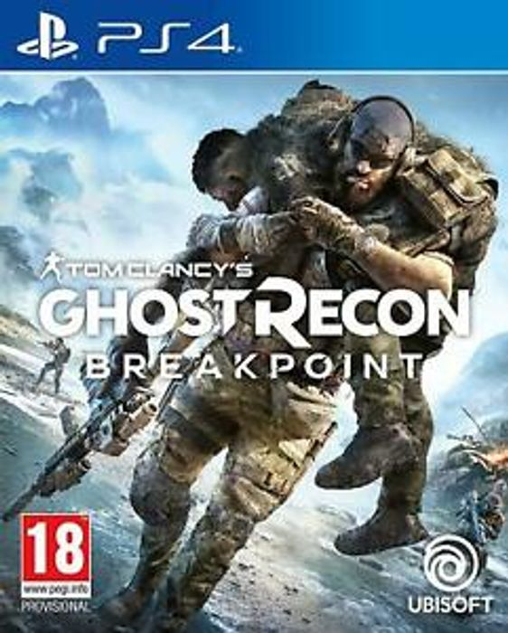 Ghost Recon Breakpoint PS4 - Only £9.99!