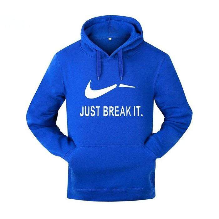 Fast Continuous Connection Cap Hedging Sweater Just Break It Printing Male Guard