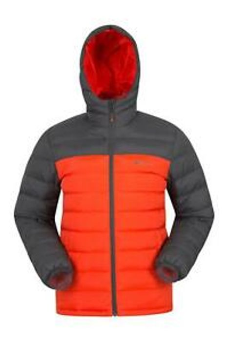 Mountain Warehouse Mens Seasons Padded Jacket Puffer Water Resistant Winter Coat