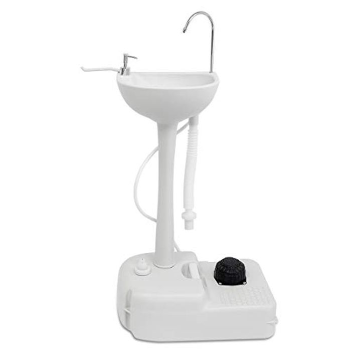 DEAL STACK - WISAMIC Portable Camping Hand Washing Sink