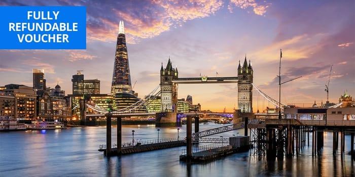 £79 London: DoubleTree by Hilton Overnight Stay, 41% Off