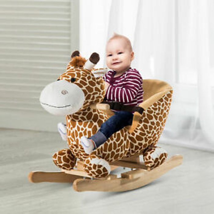 Cheap Baby Rocking Giraffe W/ 32 Songs at ebay