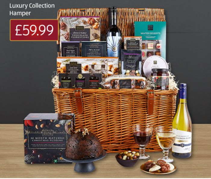 Aldi Christmas Hampers From £19.99 - £99.99