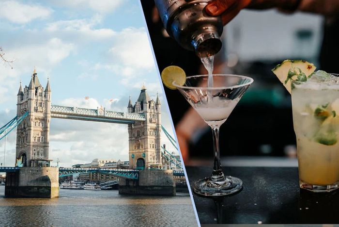 Sip & Sail ExperiencHop-on Hop-off London Sightseeing Cruise & Zebrano Cocktails