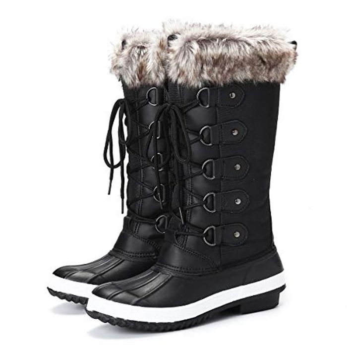 40% off Women's Fur Lined Winter Snow Boots