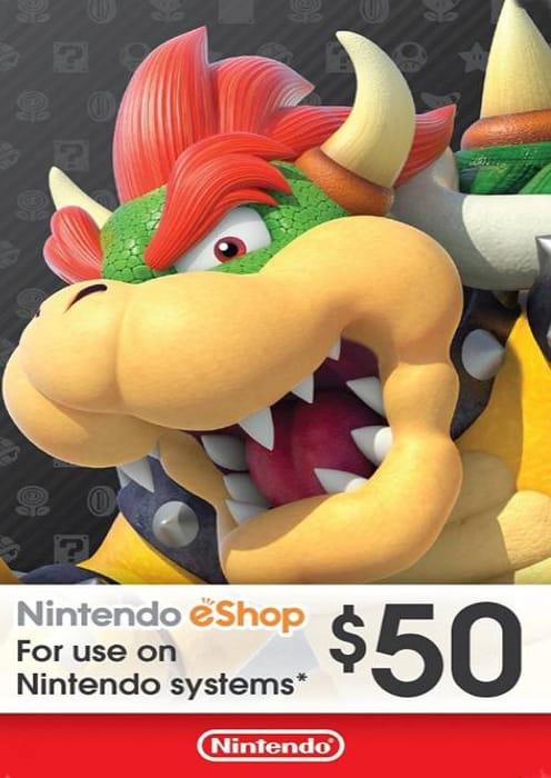 $50 Nintendo USA eShop VoucheR - Only £30.29!