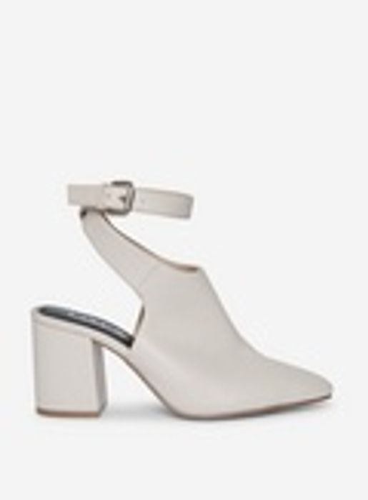 Lola Skye off White Laze Open Back Court Shoes