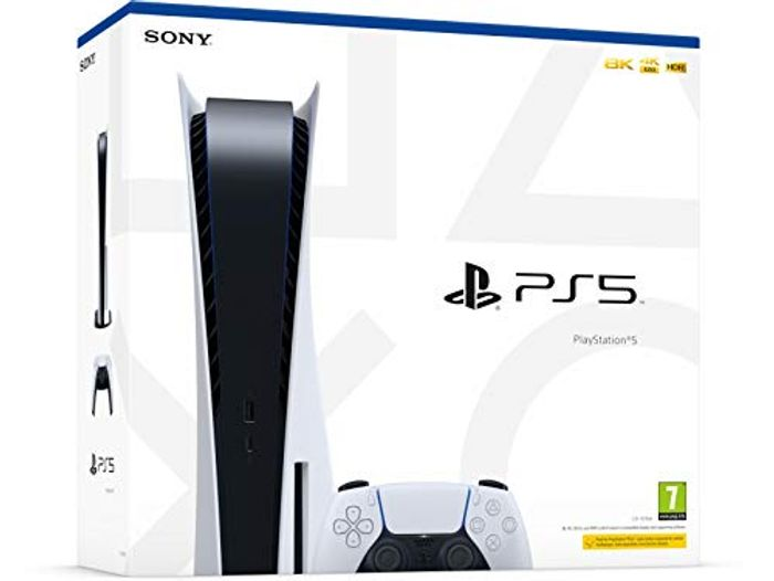 PlayStation 5 Console - PRE-ORDER PS5 at AMAZON - Friday 25th September