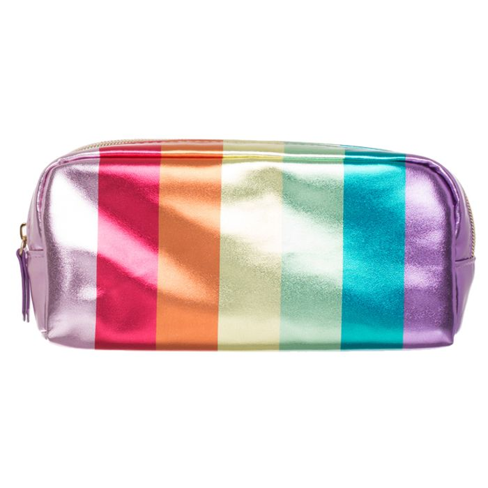 WHSmith Rainbow Chunky Pencil Case