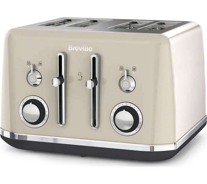 CHEAP! BREVILLE Mostra 4-Slice Toaster 4 Colours