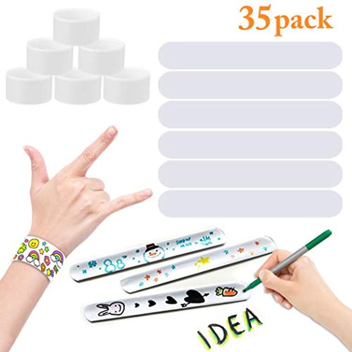 Decorate Your Own Snap Bracelets 35PCs