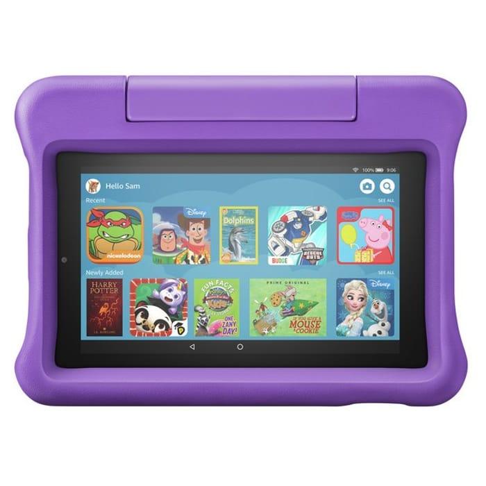 Amazon Fire 7 Kids Edition 7 Inch 16GB Tablet - Purple
