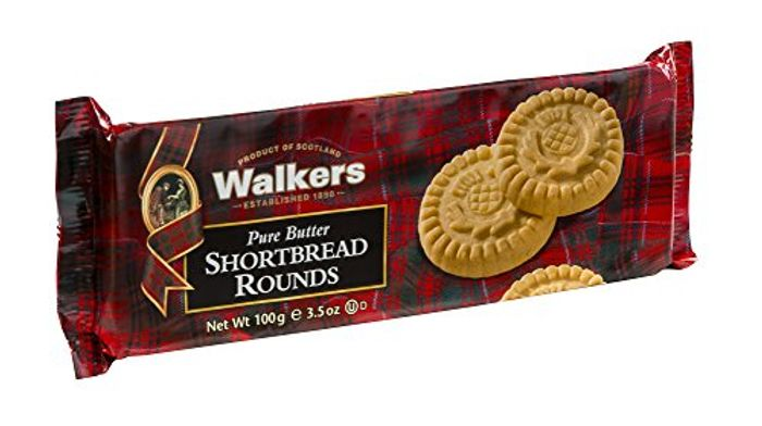 Walkers Thistle Shortbread Rounds, 100g
