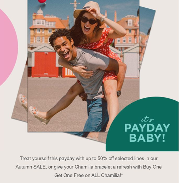 Up to 50% off Payday Treats