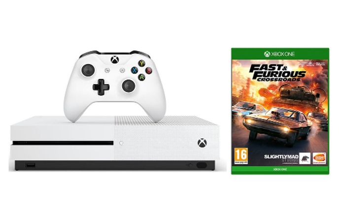 MICROSOFT Xbox One S & Fast and Furious: Crossroads Bundle - 1 TB - Only £269!