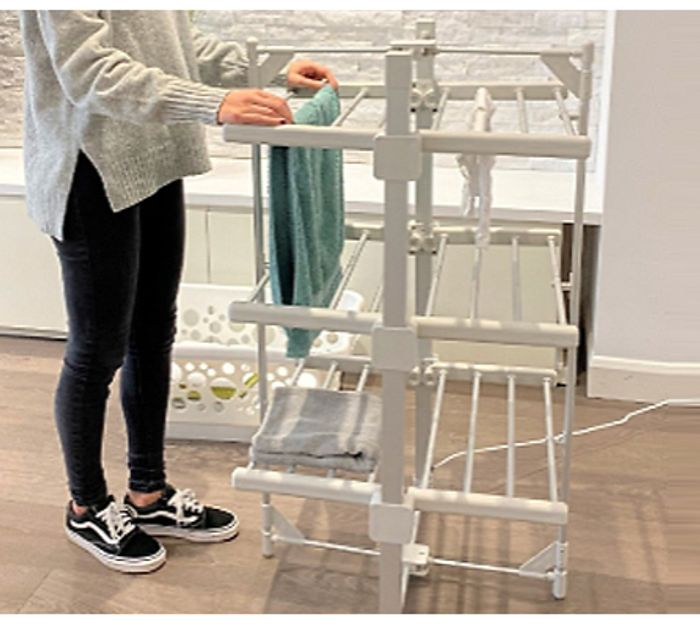3-Tier Heated Clothes Airer + EXTRA 6% Off