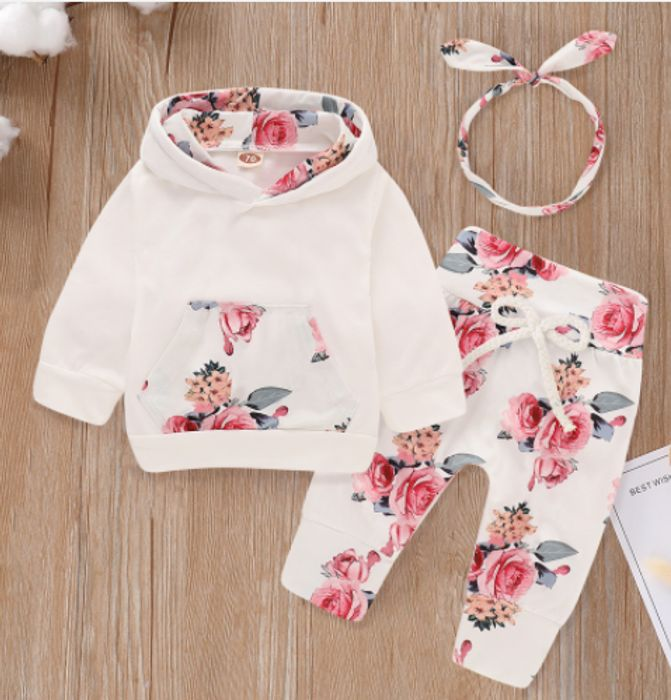 PatPat - CUTE 3 Piece Baby Clothing Sets Under £7!