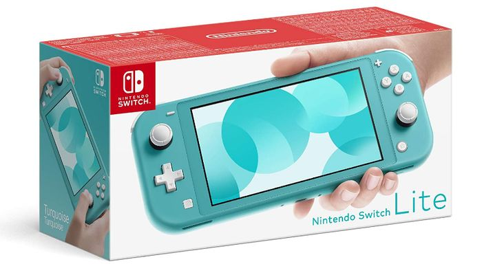Nintendo Switch Lite - Turquoise - Only £195.99!