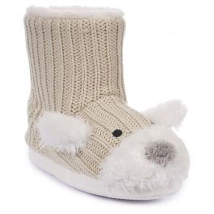 Sootie Girls Slipper Boots