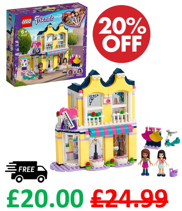 Save £4.99 + FREE DELIVERY - LEGO FRIENDS - Emma's Fashion Shop (41427)