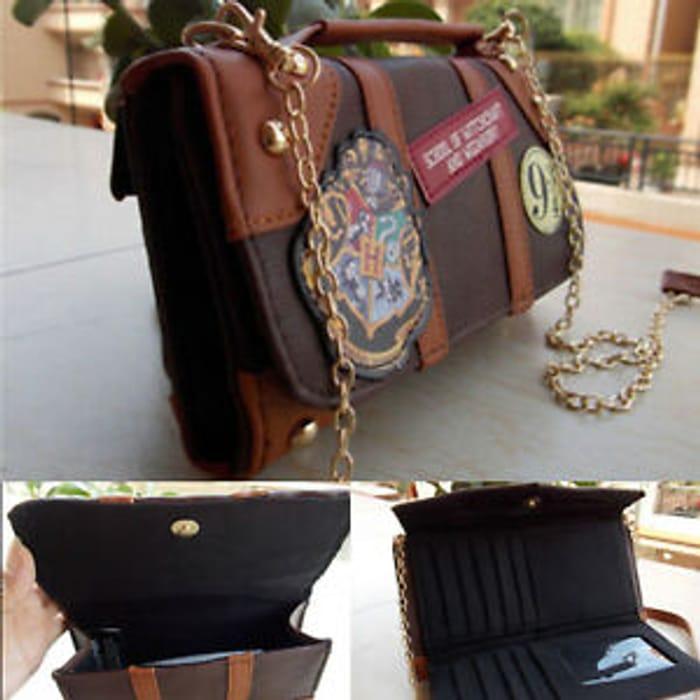 Ladies PU Leather Harry Potter Crossbody Messenger Bag