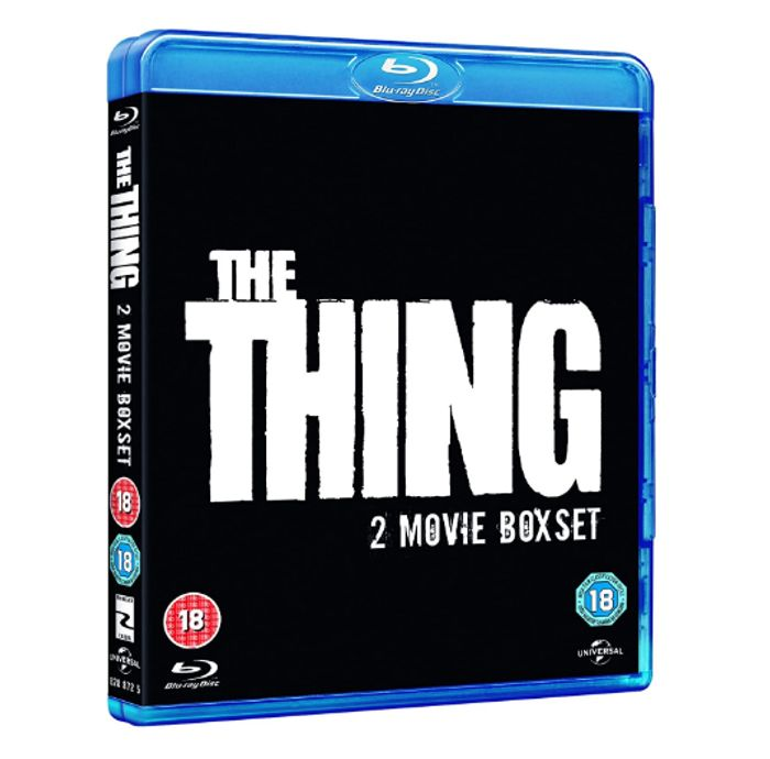 The Thing (Double Pack including Original) [Blu-Ray] [Region Free] - Only £4!