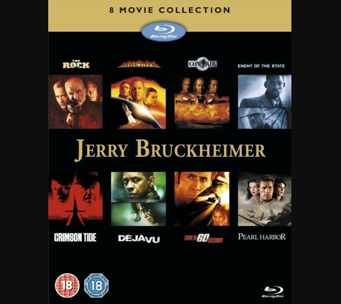 Jerry Bruckheimer: 8 Movie Collection (Box Set) [Blu-Ray] - Only £14.99!