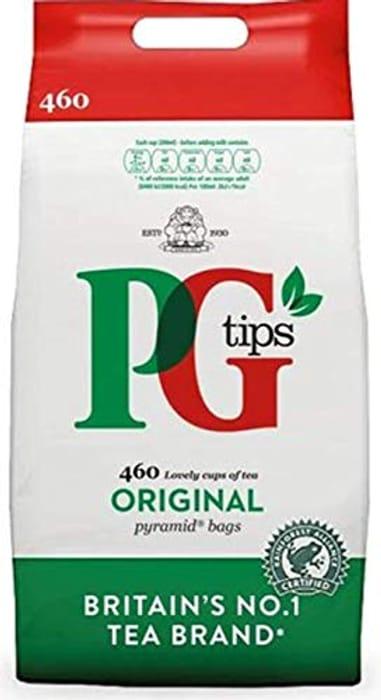 PG Tips Original Pyramid Tea Bags, Large Pack of 460 Teabags
