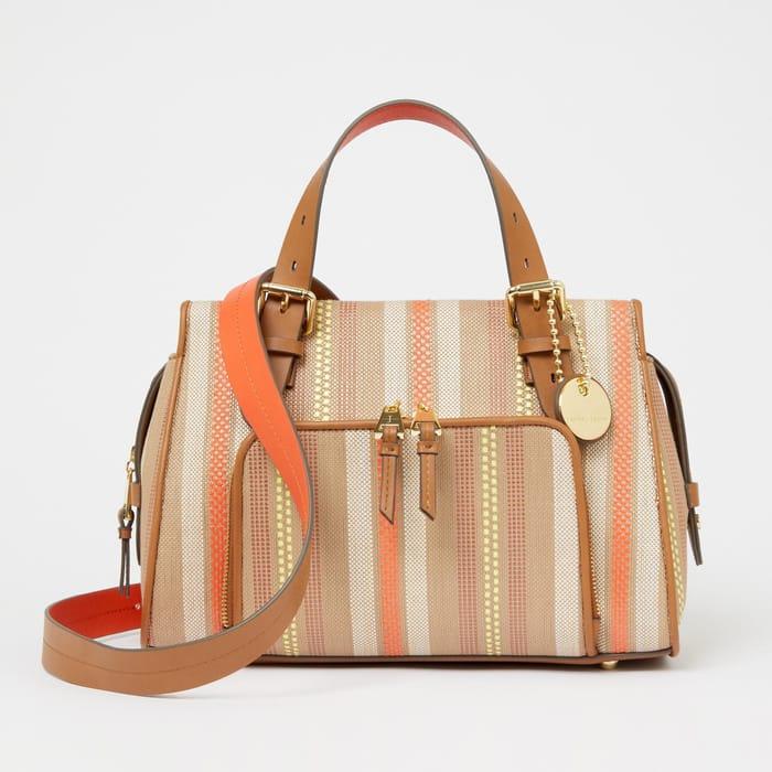 J by Jasper Conran - Multicoloured Striped 'Holland Park' Grab Bag