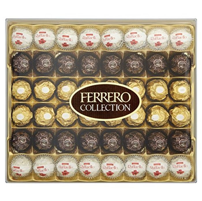 Ferrero Collection Chocolate Gift Set, Assorted, Box of 48 Pieces