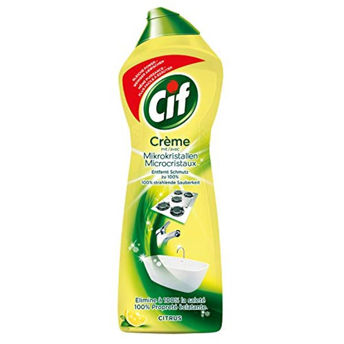 Cif Lemon Cream with Microparticles - 500ml